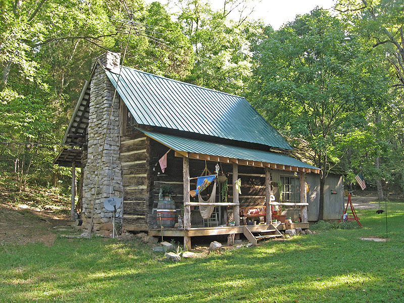 The Pioneer Log House In Kentucky Dog Breeds Picture